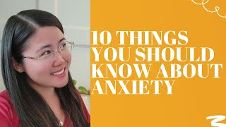 10 Anxiety Myths DEBUNKED by psychologist!