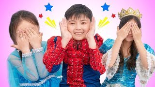 Peek a boo sing-along song | Kinderlieder