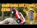 Hobbywing AXE 550 in a Redcat Gen8 Test Review
