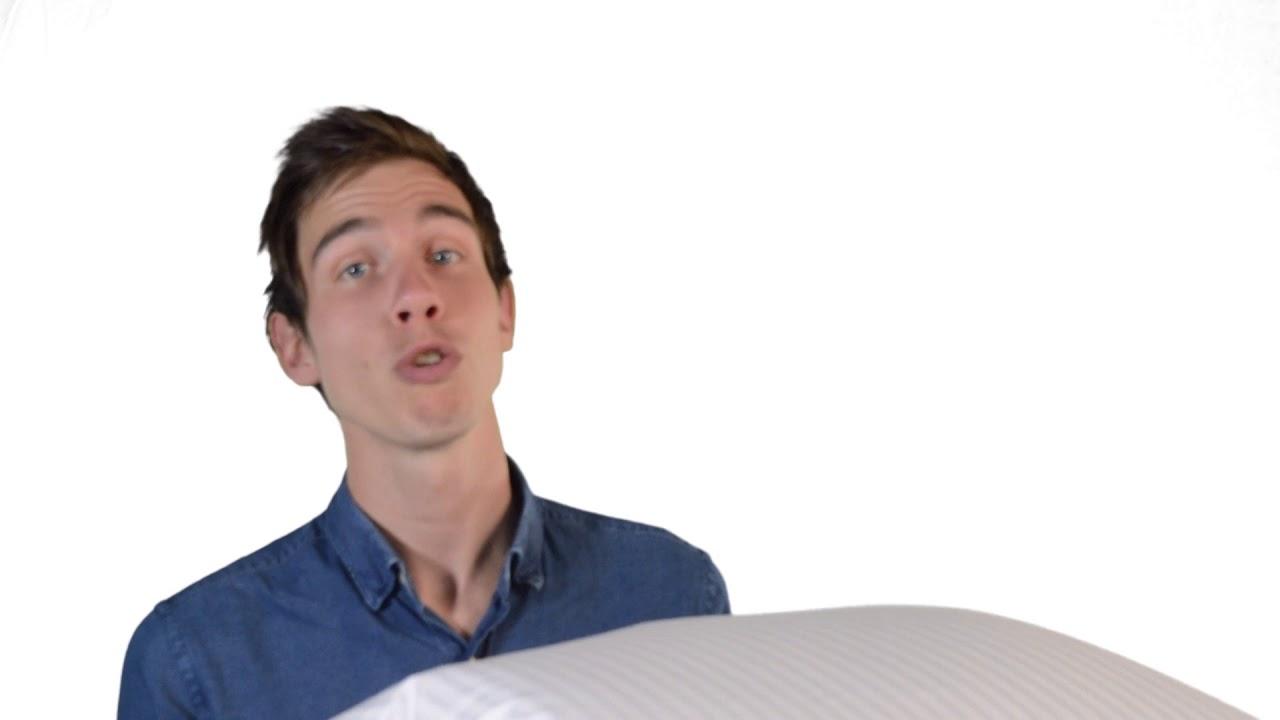 Ducky Dons Kussen : Ducky dons eendendons kussen youtube