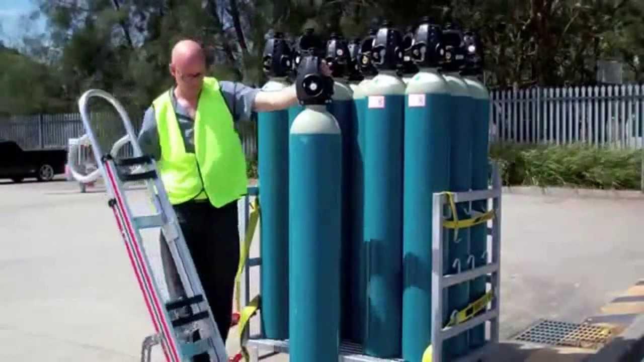 Rotatruck Gas Cylinder Handling Truck By Materials