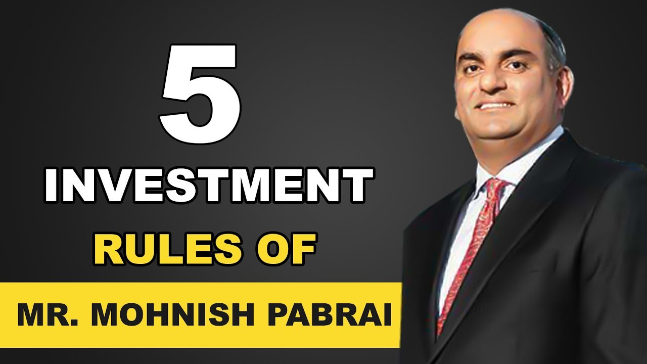 5 Investment Rules by Mr. Mohnish Pabrai