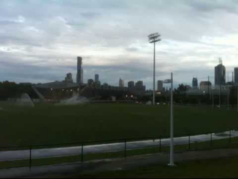 Collingwood's Training Ground at Melbourne Olympic Park Trust