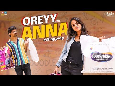 Oreyy Anna || Part 2 || #Shopping || Satyabhama || Tamada Media