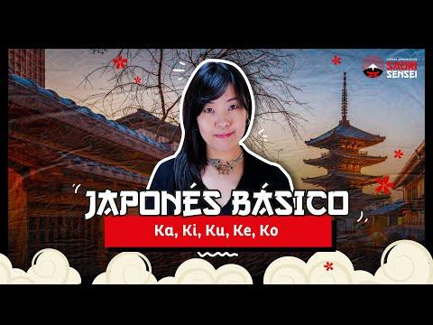 Japonés Básico 4: Ka, Ki, Ku, Ke, Ko - Lectura y Escritura
