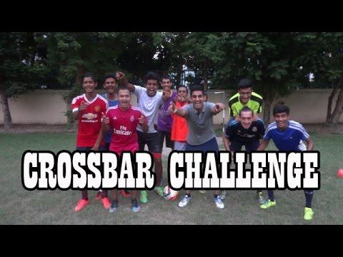 Crossbar Challenge w/ The St.Xavier's College Football Team | Oni D