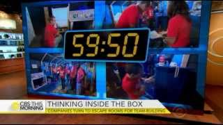 Escape Expert LLC Hits Prime Time TV on This Morning Show on CBS
