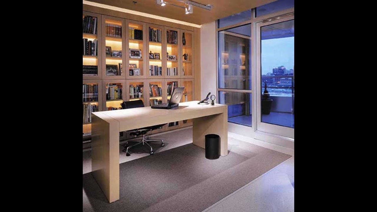 how to decorate a small home office small home office design rh youtube com