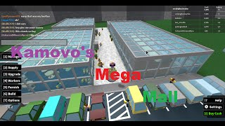Building My Mega Mall Retail Tycoon Roblox