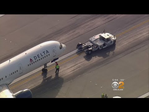 Hydraulic Issue Forces Delta Airlines Plane To Make Emergency Landing At LAX