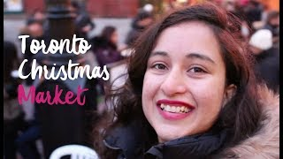 Toronto Christmas Market Darshan | Indian Gal In Canada