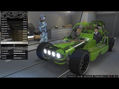 GTA 5 DLC Vehicle Customization (Dune FAV)(Gunrunning)