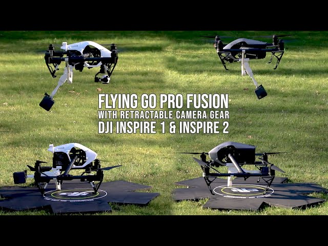 GoPro 360 Camera mounted on Inspire 1 and 2 ...