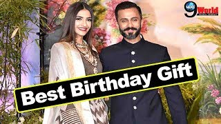 Sonam Kapoor: Best ever birthday gift from husband Anand Ahuja
