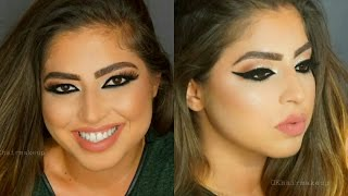 Arab Style Bridal Makeup | Arab Stili Gelin Makyajı