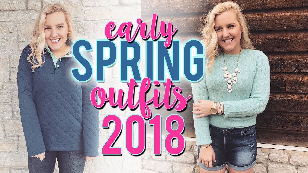 PREPPY SPRING OUTFITS OF THE WEEK (March 2018, OOTW) 5 OUTFIT IDEAS ||Kellyprepster