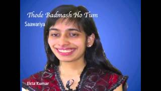 Thode Badmash Ho Tum Cover