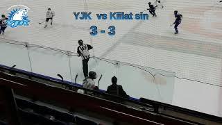 YJK D2 -07 vs Kiilat sininen 6.1.2020 maalikooste
