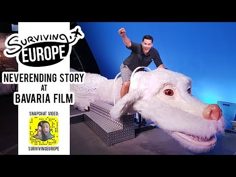 NeverEnding Story at Bavaria Film with Surviving Europe (SnapChat)