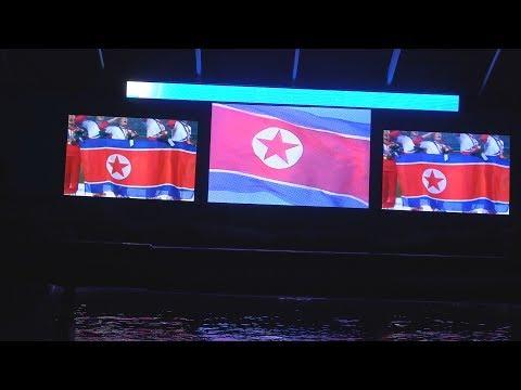 Inside the Pyongyang Dolphin Aquarium