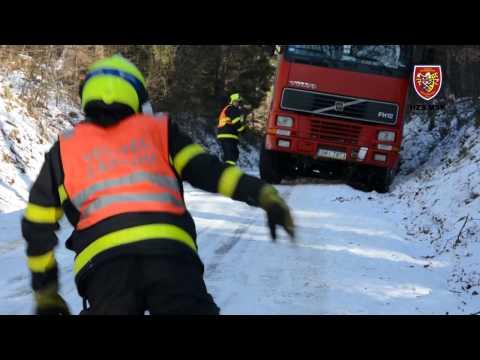 12.1.2017 Technická pomoc - odstraňování překážek, Hlubočec