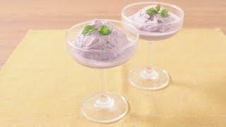 材料3つで 紫いもアイス|Purple sweet ice cream kurashiru [クラシル] thumbnail
