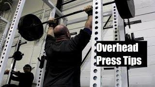 3 BIG BEGINNER OVERHEAD PRESS MISTAKES (Featuring Jeremy Hamilton)