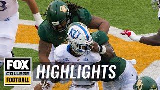 Baylor vs. Kansas | FOX COLLEGE FOOTBALL HIGHLIGHTS