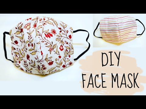 DIY: How to sew Face Mask | NO Sewing Machine! - YouTube