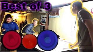 GAME OF AIR HOCKEY AGAINST ROBERT! (Best of 3)