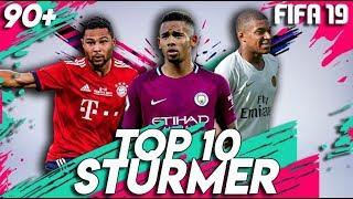 FIFA 19: TOP 10 STÜRMER TALENTE !! 🔥 | Karrieremodus 90+
