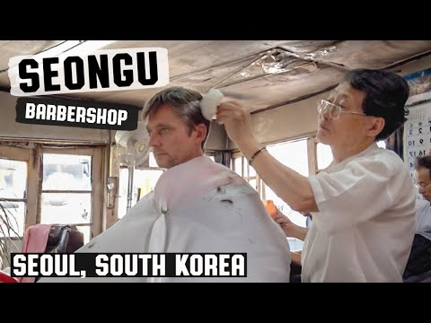 💈 성우이용원 Haircut & Hair Styling In South Korea's Oldest Barbershop | Seongu Barber Shop Seoul