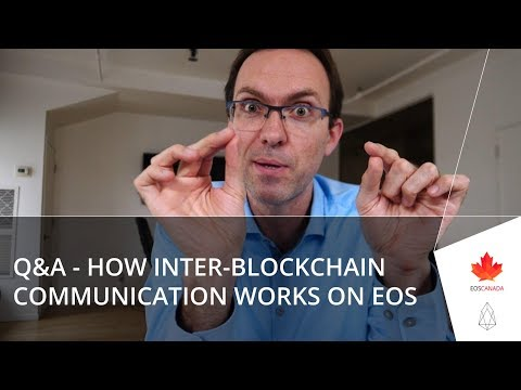 Q&A - How Inter-Blockchain Communication Works On EOS