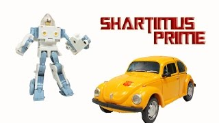 Transformers Masterpiece Bumblebee and Spike MP-21 Collector Coin Version Action Figure Review