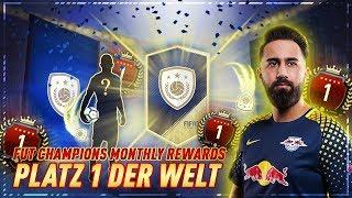 FIFA 18: PLATZ 1 DER WELT! GARANTIERTE ICON im PACK & 93+ WALKOUT!!! FUT CHAMPIONS MONTHLY REWARDS!!