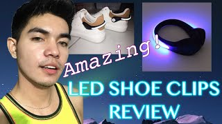 LED SHOE CLIP REVIEW