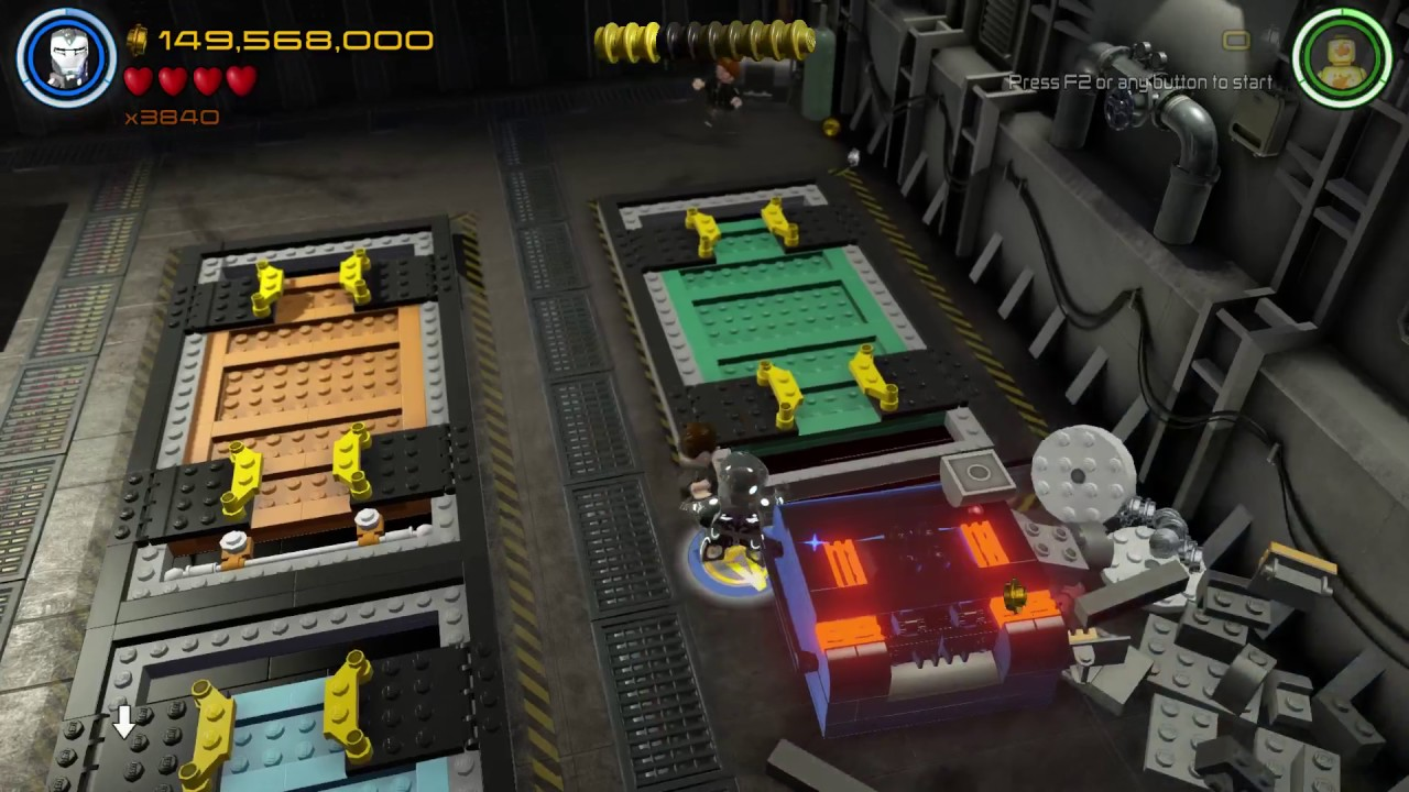 Lego Marvel Avengers - Lack Of Insight (Free Play) - YouTube