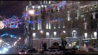 St.Petersburg Xmas Питер От Литейного к пл. Мужества(Нечищено и всё в сосульках., 2010-12-15T15:23:03.000Z)