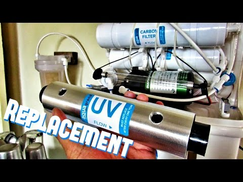 💧 UV Light Bulb | UV Lamp Replacement : How to Change