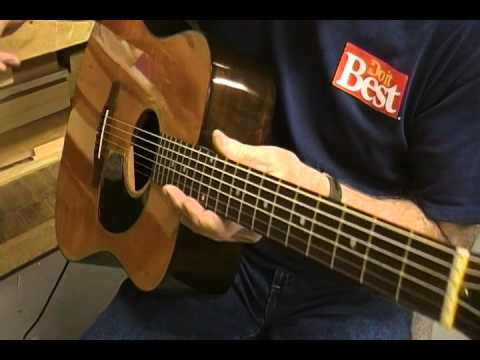 gibson acoustic guitar lr baggs lyric pick up install 5 youtube. Black Bedroom Furniture Sets. Home Design Ideas