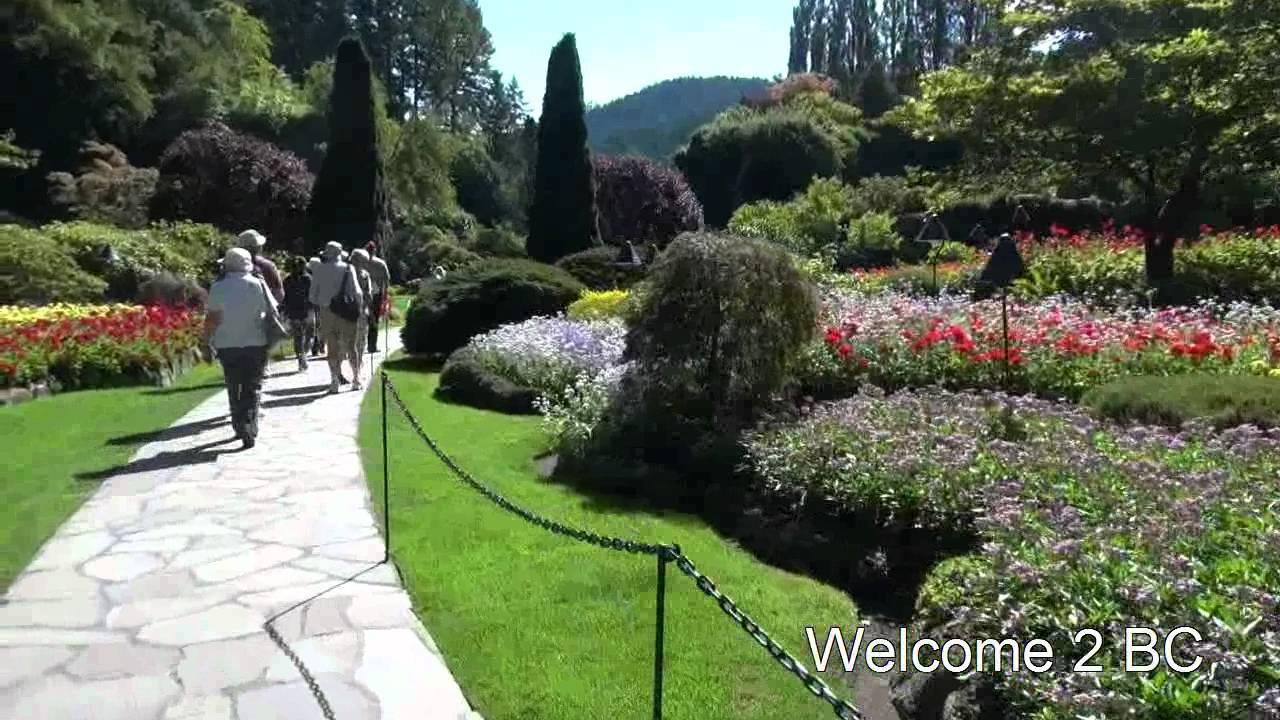 Attractive Victoria Harbour And Butchart Garden, Vancouver Island , BC, Canada