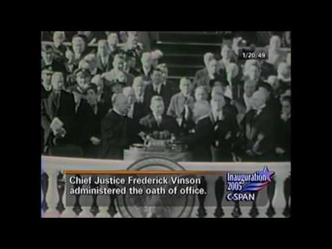 Presidential Inaguration William McKinley To Donald Trump (1897-2017)