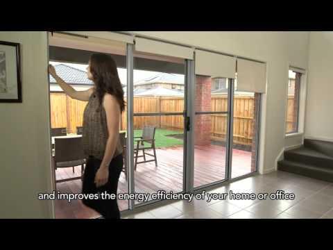 Vertilux Motorised Solar Blinds