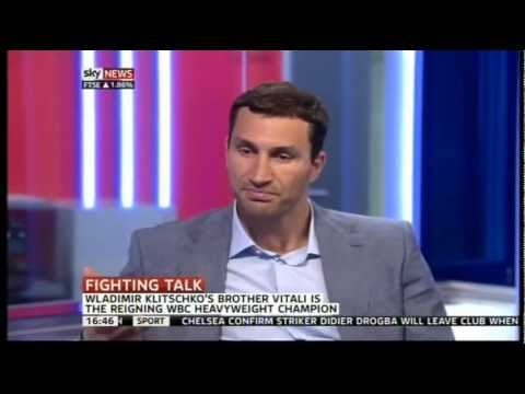 Wladimir On Chisora Spitting