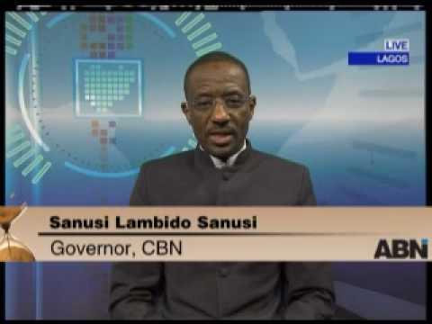 Sanusi Lamido Sanusi - CBN governor