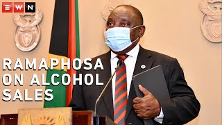 Speaking on 28 December 2020, President Cyril Ramaphosa announced new restrictions put in place to curb the spread of the coronavirus outbreak. The president said alcohol consumption was a major contributing factor to the spread of the virus.