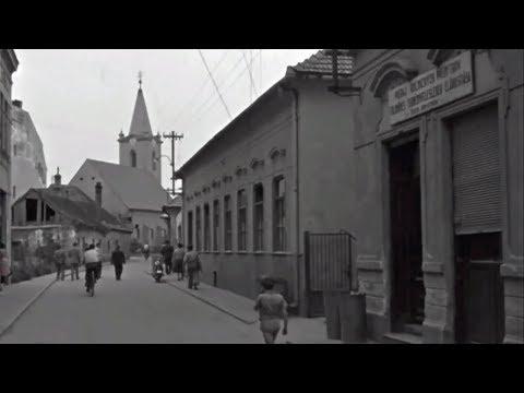 Dunajská Streda - Sladký život v roku 1957
