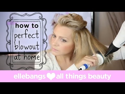 DIY: Perfect Blowout with Huge Volume