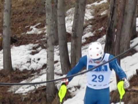 Super G Ski Race Burke Mountain Academy Vermont