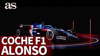 Alpine presenta el A521, el nuevo coche de Fernando Alonso